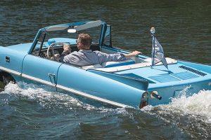 Amphicar 770, o anfíbio inspirado no Triumph Herald