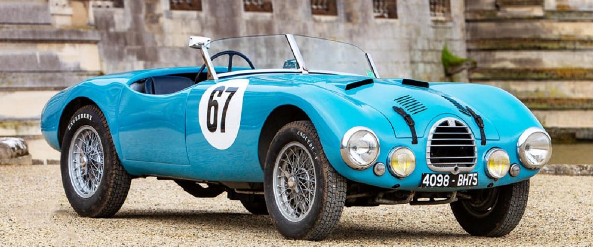 Gordini Type 15S Barquette conduzido por Fangio vai a leilão