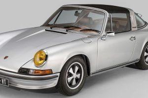 Porsche 911S Targa e o interior único produzido pela Berluti
