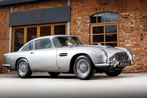 RM Sotheby's leva a leilão Aston Martin DB5 de James Bond