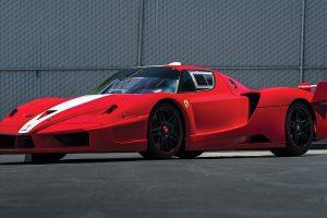 Sete modelos Ferrari da colecção Ming vão a leilão em Agosto