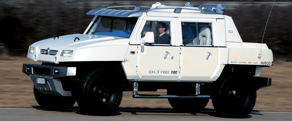 Fiat Oltre, o Hummer italiano que nunca chegou ao mercado