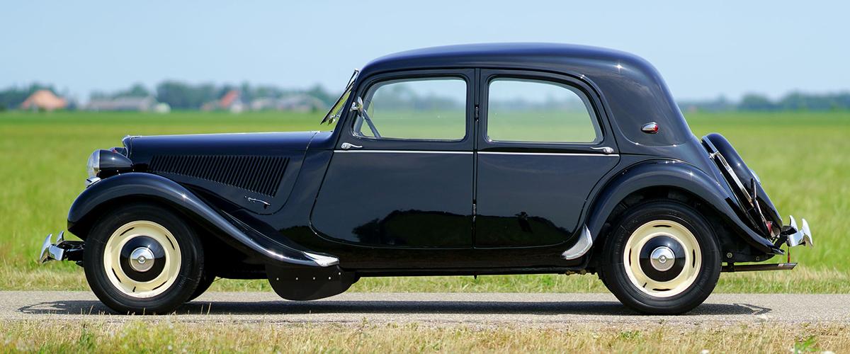 Citroën Traction Avant, um nome que se forjou a partir inovação