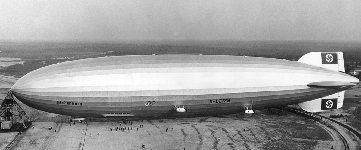 Clássicos no ar: O luxuoso Zeppelin