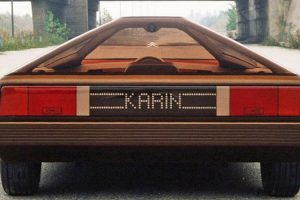 Citroën Karin, uma pirâmide sobre quatro rodas