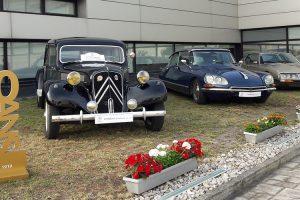 Centenário da Citroën festejado com desfile em Lisboa