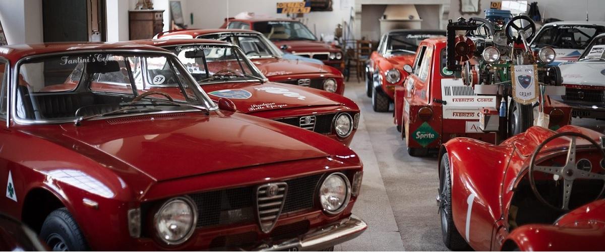 A extraordinária colecção de automóveis de Attilio Fantini