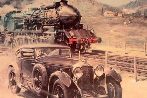 """Le Train Bleu e a aposta dos """"Bentley Boys"""""""