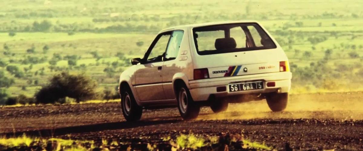 Peugeot 205 Rallye, o desportivo sem filtro
