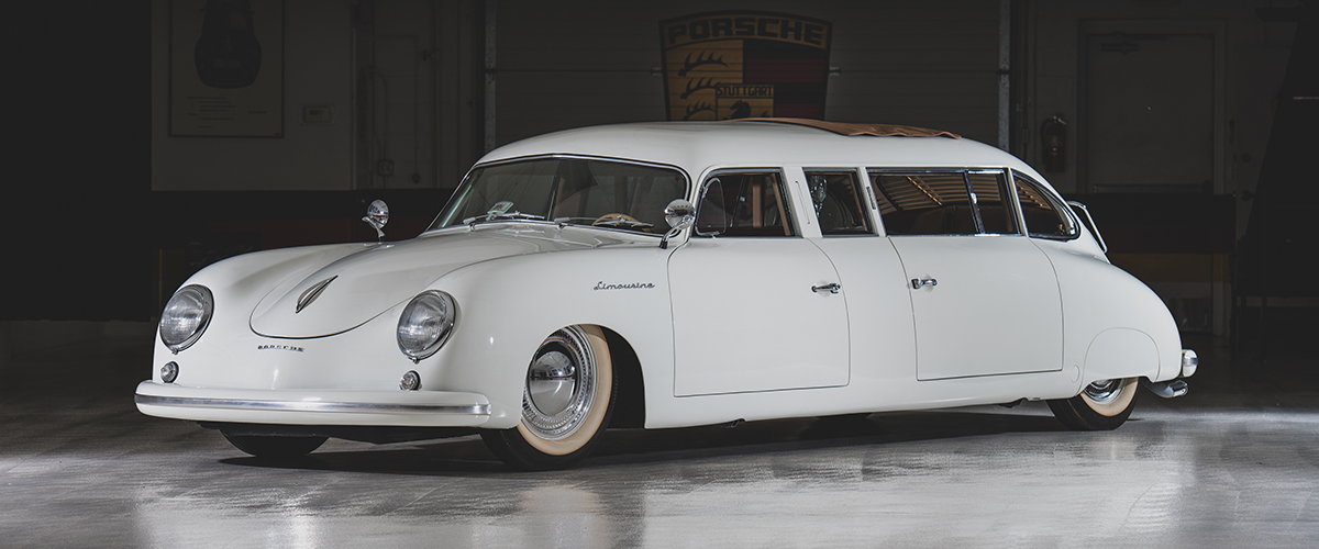 Misterioso Porsche 356 Limousine vai a leilão