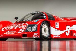 Porsche 962 que competiu no IMSA está à venda