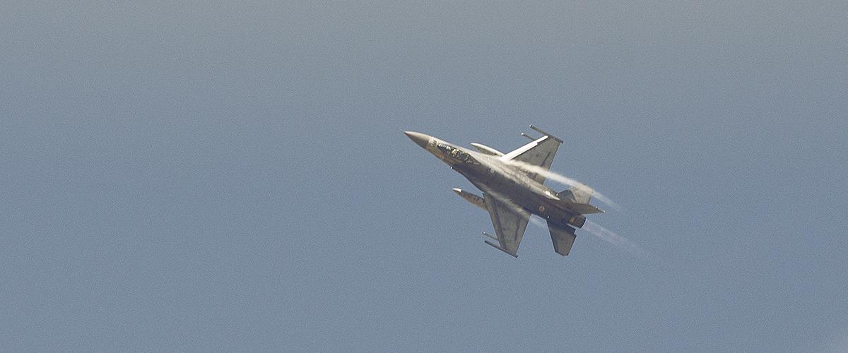 Caças F-16 voltam a rasgar os céus do Caramulo Motorfestival