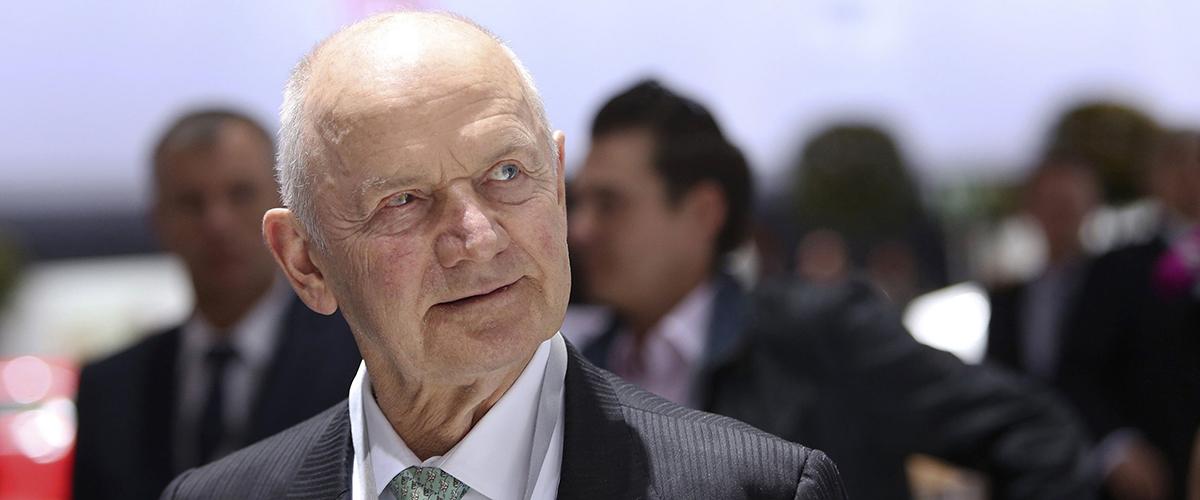 Morreu Ferdinand Piëch, o criador do império automóvel da Volkswagen
