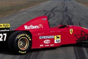Motor do Ferrari 412 T2 de Fórmula 1 está à venda no eBay