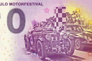 Museu do Caramulo lança edição limitada da nota dedicada ao Caramulo Motorfestival