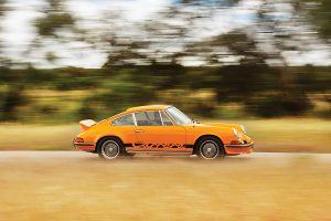 Porsche 911 Carrera RS 2.7, nascido para acelerar
