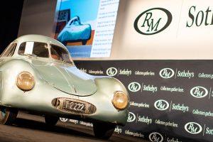 Porsche Type 64 falha venda em leilão numa situação insólita