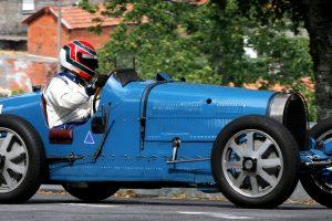 """Bugatti Type 35B """"Grand Prix"""" abre Rampa Histórica Michelin"""