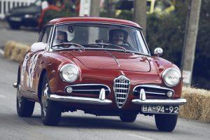 Passeio Alfa Romeo estreia-se no Caramulo Motorfestival