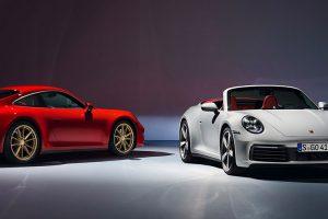 Porsche disponibiliza novos 911 Carrera com tracção integral