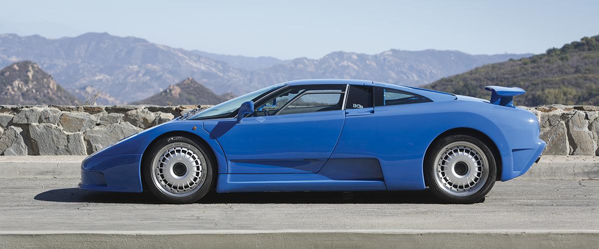 Bugatti EB110 GT: A máquina infernal que mudou as regras do jogo