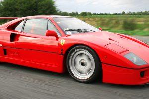 Ferrari F40: Um misto de tradição e futurismo