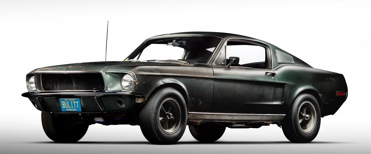 Ford Mustang GT de Steve McQueen vai a leilão