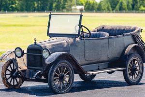 Harroun Model A-1 Touring, o automóvel produzido pelo primeiro vencedor do Indy 500