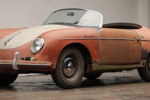 Este Speedster é o melhor exemplar Porsche que pode encontrar no mercado para restauro