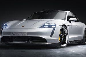 Porsche apresenta ao mundo o primeiro desportivo totalmente eléctrico da marca