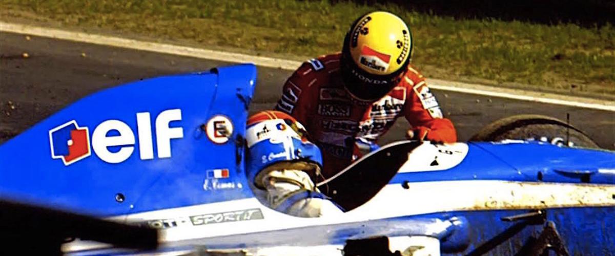 Ayrton Senna-Erik Comas: Dois acidentes, uma ligação especial