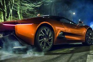 Os quatro Aston Martin que serão utilizados por James Bond no próximo filme