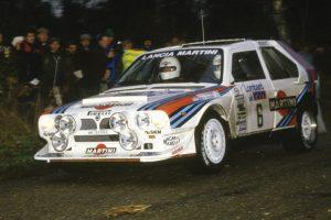 Lancia Delta S4 vencedor do RAC Rally de 1985 vai a leilão