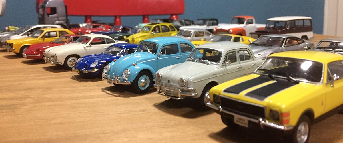 O mundo automóvel em miniatura