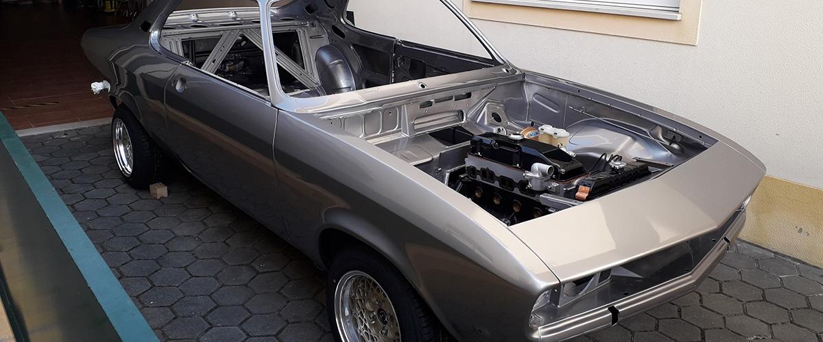 O meu clássico com história: Opel Manta A, a realização de um sonho