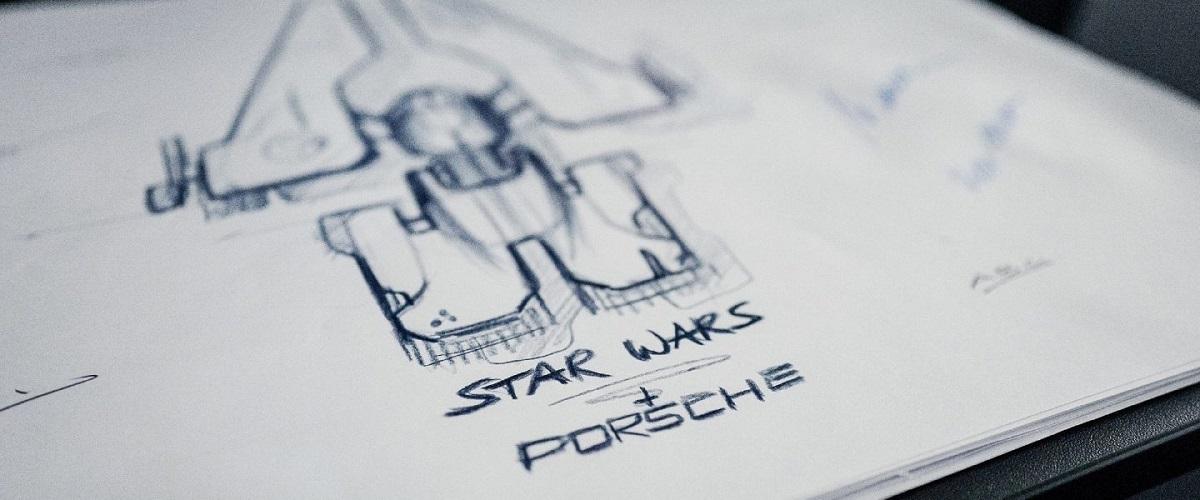Porsche vai desenhar nave espacial para o novo filme da saga Star Wars