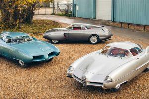 """""""Batmobiles"""" da Bertone: A Santíssima Trindade do design automóvel"""