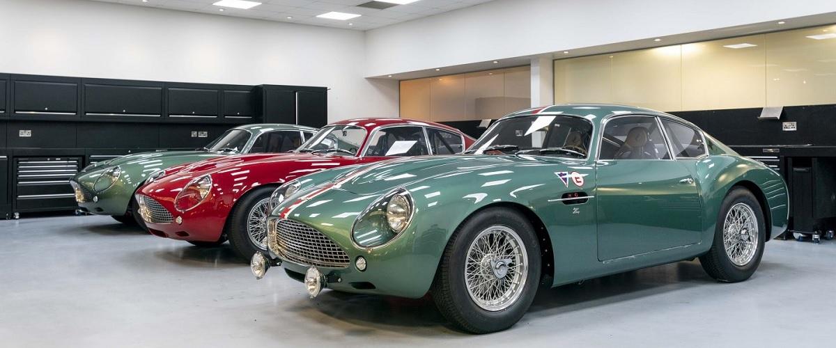 Aston Martin entrega os primeiros DB4 GT Zagato Continuation Series