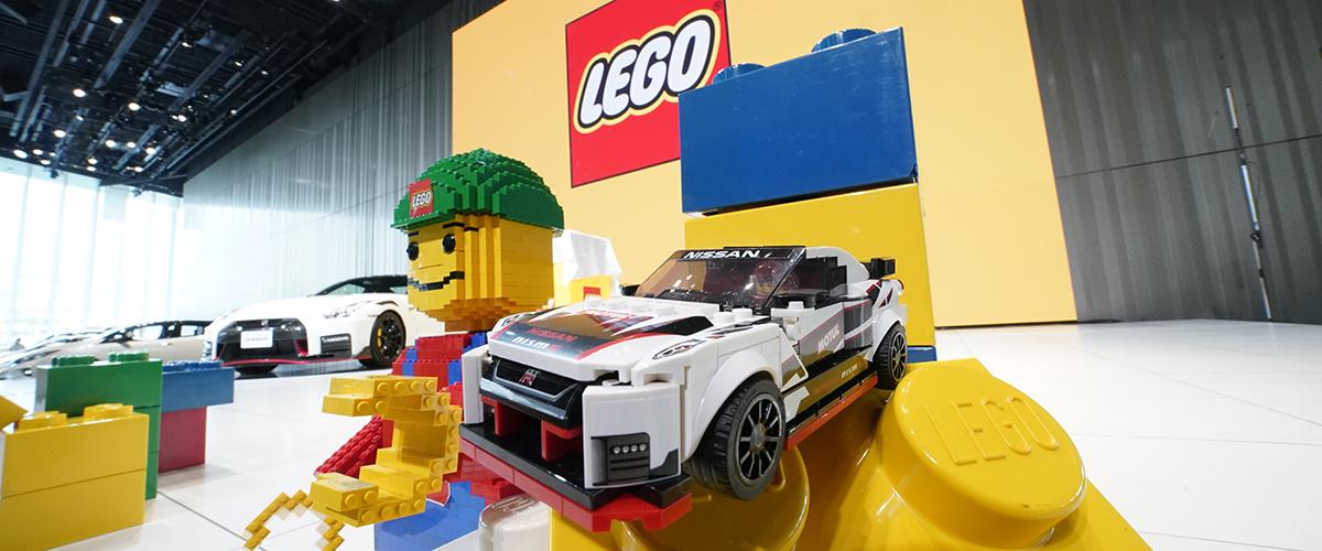 LEGO recria Nissan GT-R Nismo
