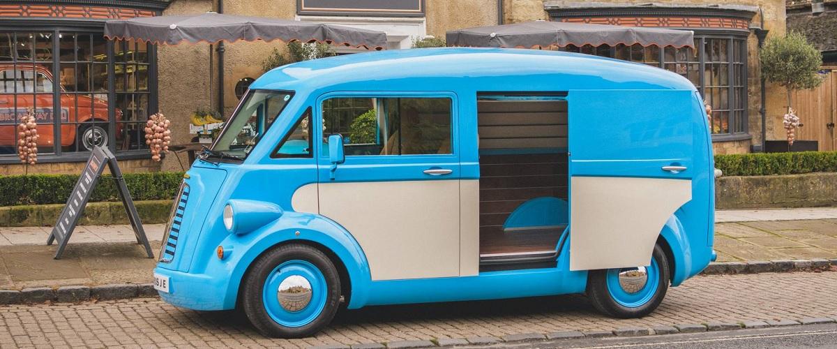Morris está de volta com a produção de furgão eléctrico retro