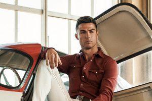 Cristiano Ronaldo rende-se aos clássicos italianos na sua nova campanha
