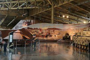 Royal Tank Museum da Jordânia, um museu de peso