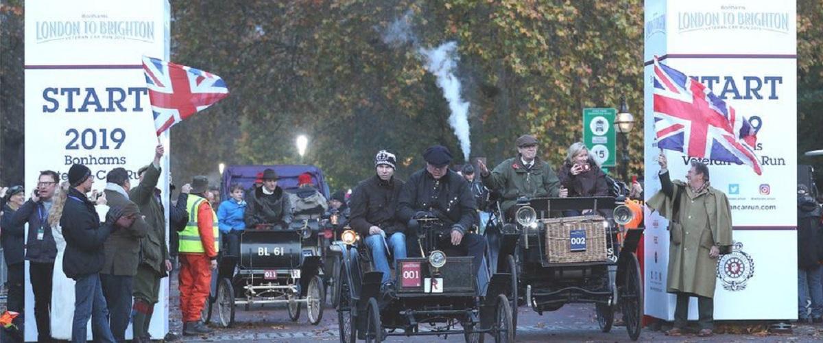 Participante do London-Brighton morre após acidente com camião