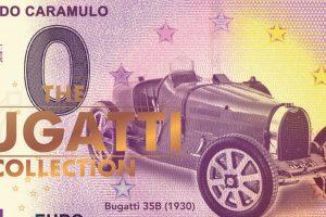 Museu do Caramulo lança edição especial da nota coleccionável do Bugatti