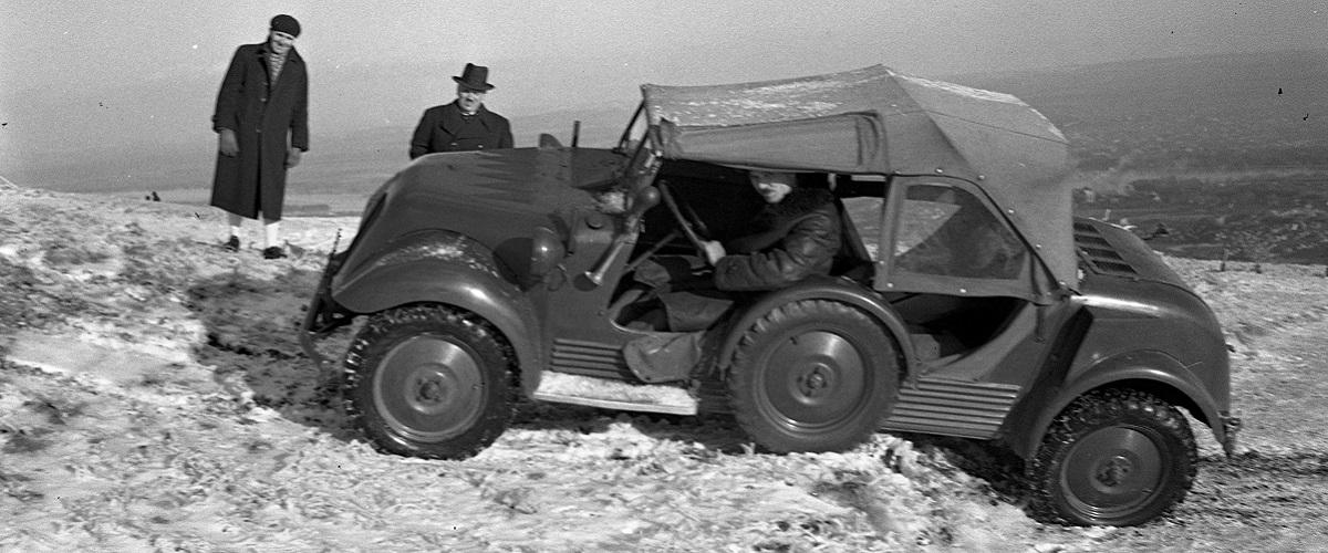Vidal G 1200 Tempo, o SUV criado nos anos 30
