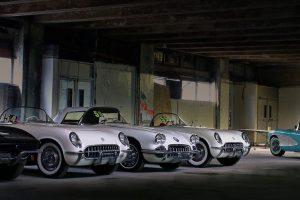 Colecção famosa de Corvette abandonados começou a ser restaurada