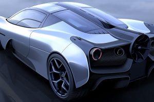 Foi revelada a primeira imagem do T.50, o sucessor do McLaren F1