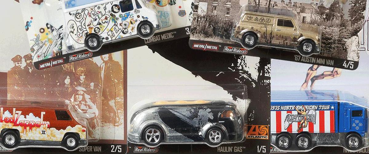 Hot Wheels presta homenagem aos Led Zeppelin