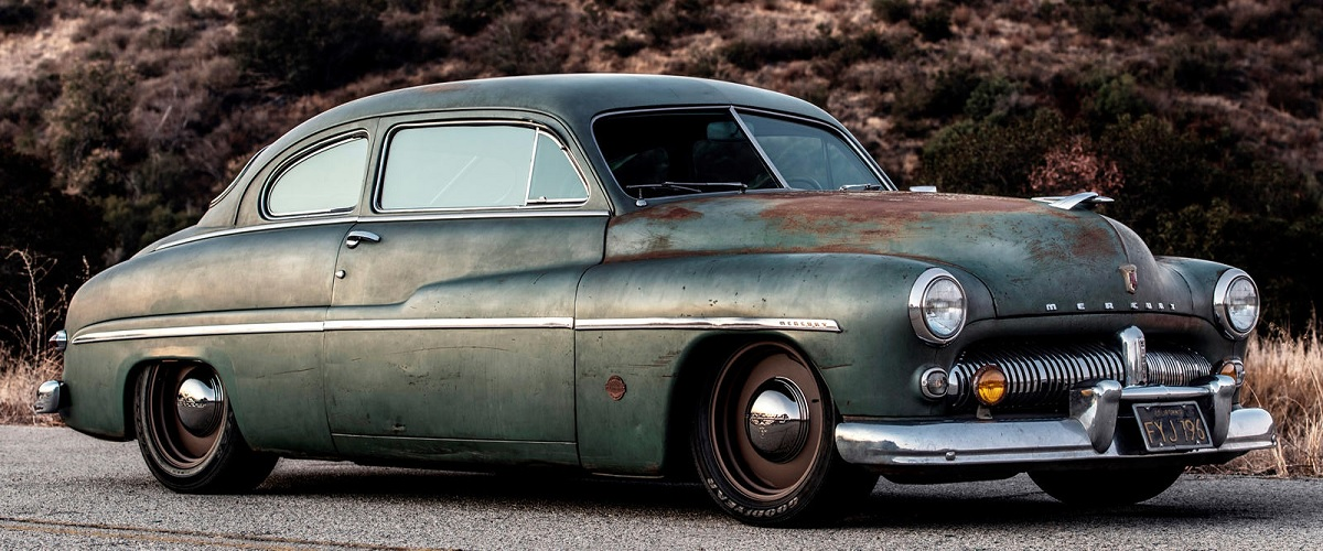 ICON transforma Mercury Coupé de 1949 com motores eléctricos da Tesla