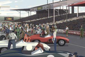 Filme animado conta a história da tragédia da Mercedes-Benz em Le Mans